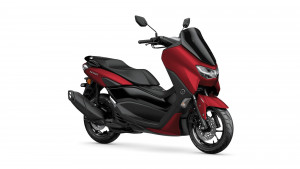 Yamaha Nmax 125 anodized red