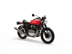 ROYAL ENFIELD CONTINENTAL ROCKER RED