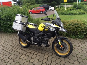 SUZUKI DL1000A XT V-STROM ŽLTÝ ADVENTURE KIT