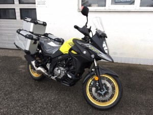 SUZUKI DL650A XT V-STROM ŽLTÝ ADVENTURE KIT