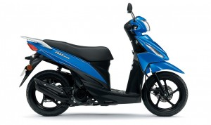 SUZUKI UK110NE ADDRESS MODRÝ
